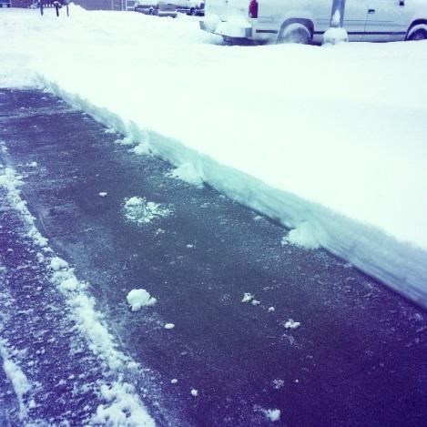 Record North Dakota Snowfall April