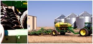 Rohrich Farms, Grain Drill, Zeeland, North Dakota, Wheat Plant