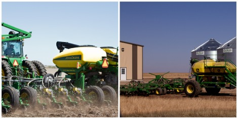 grain drill, John Deere planter, Rohrich Farms, Plant