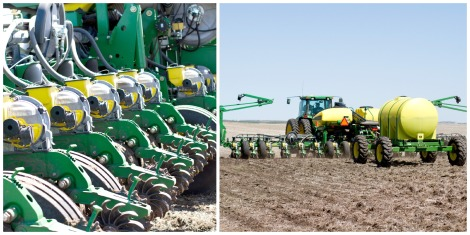 Planter, Rohrich Farms, Zeeland, North Dakota, Corn, Sunflowers