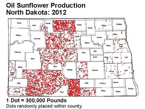 Sunflower Production By County.jpg