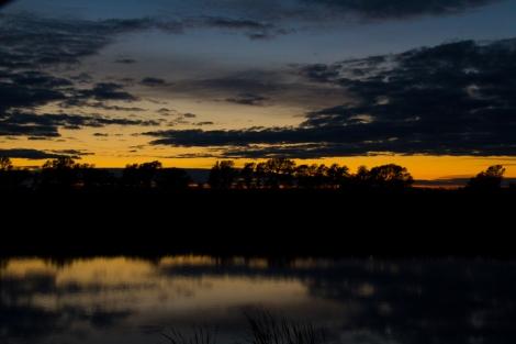 North Dakota Fall Sunset-13